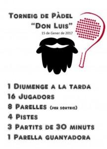 Torneo padel Don Luís